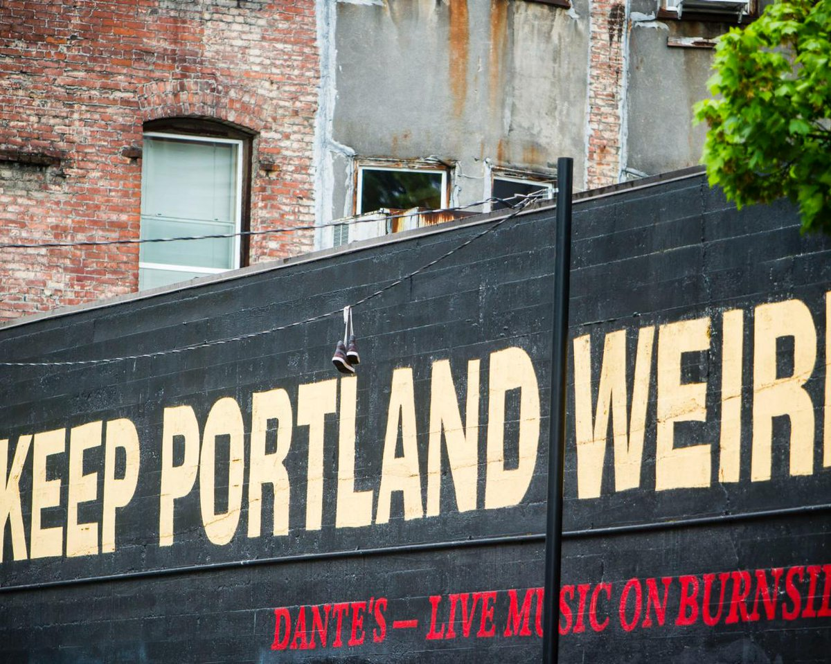 Keep Portland Weird Wall 2