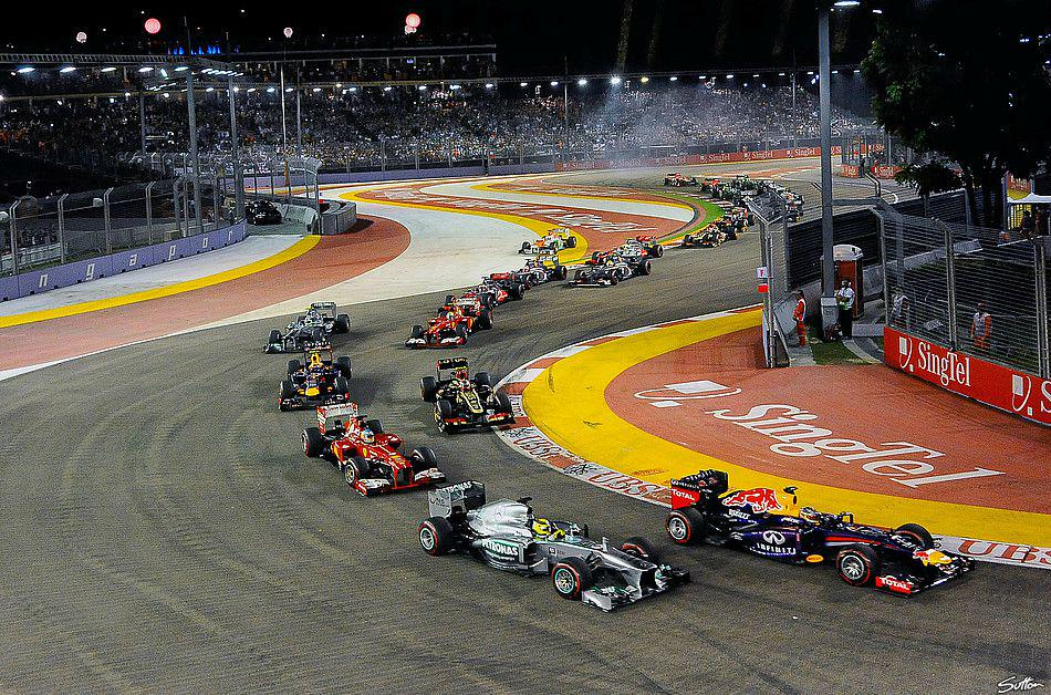 F1 GP Singapore 2015: partenza gara Streaming Ferrari con Diretta RAI TV