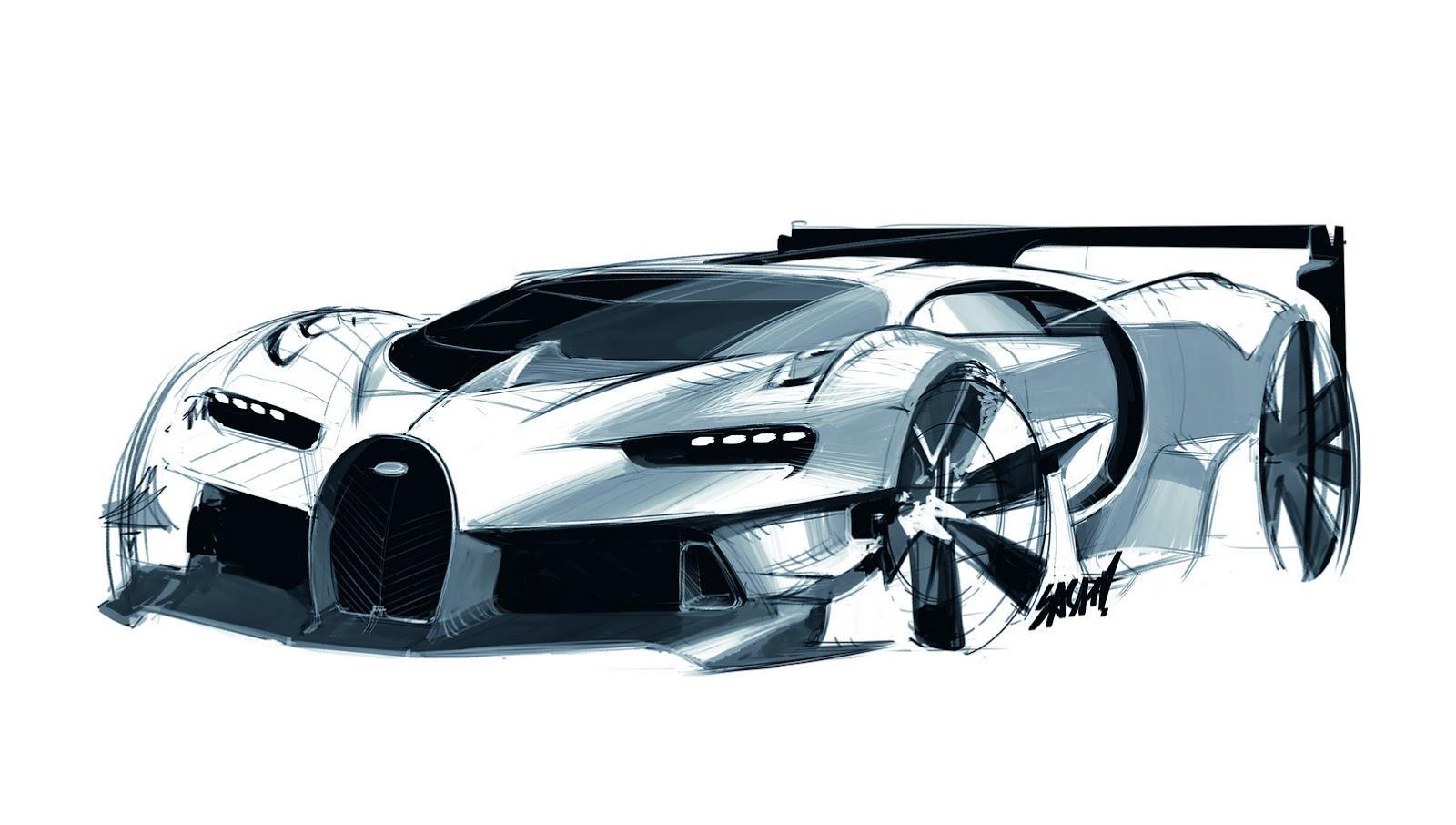 Daniel Simon on Twitter Bugatti sketch for new Vision