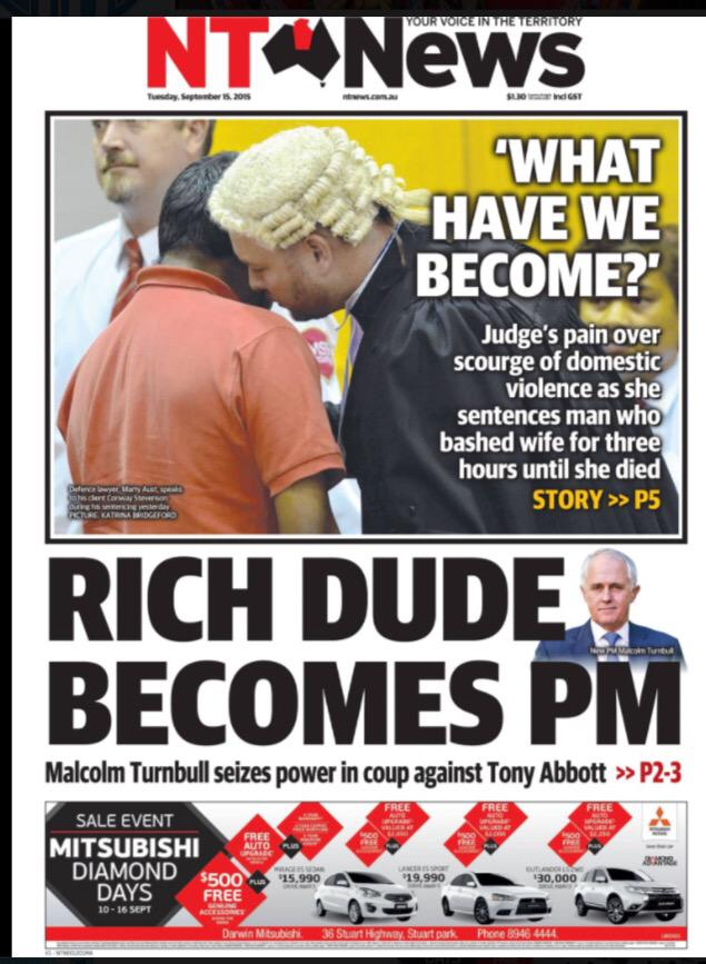 Never change @TheNTNews. #auspoI http://t.co/dKoeuL7bz8