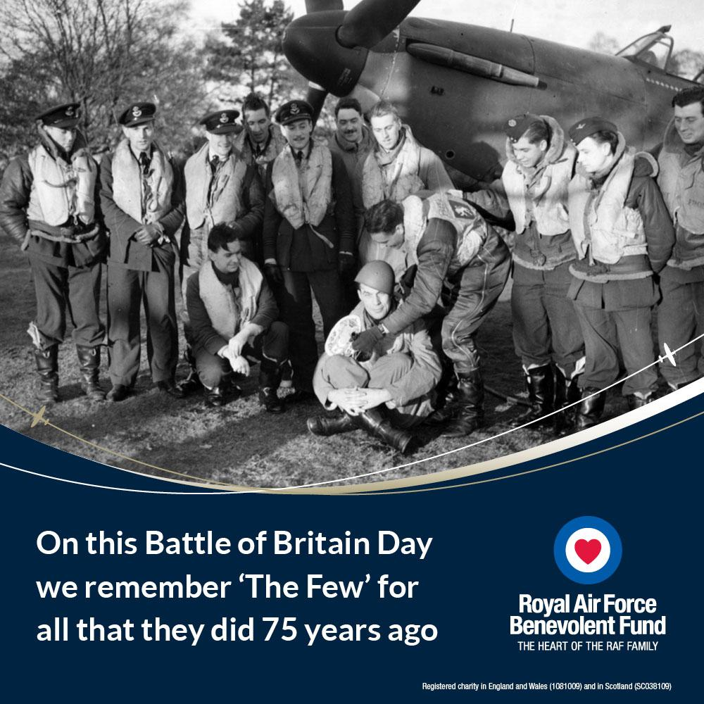 Today is #BattleofBritain Day. We will remember them. #BoB75 http://t.co/AlcM8yKMdn