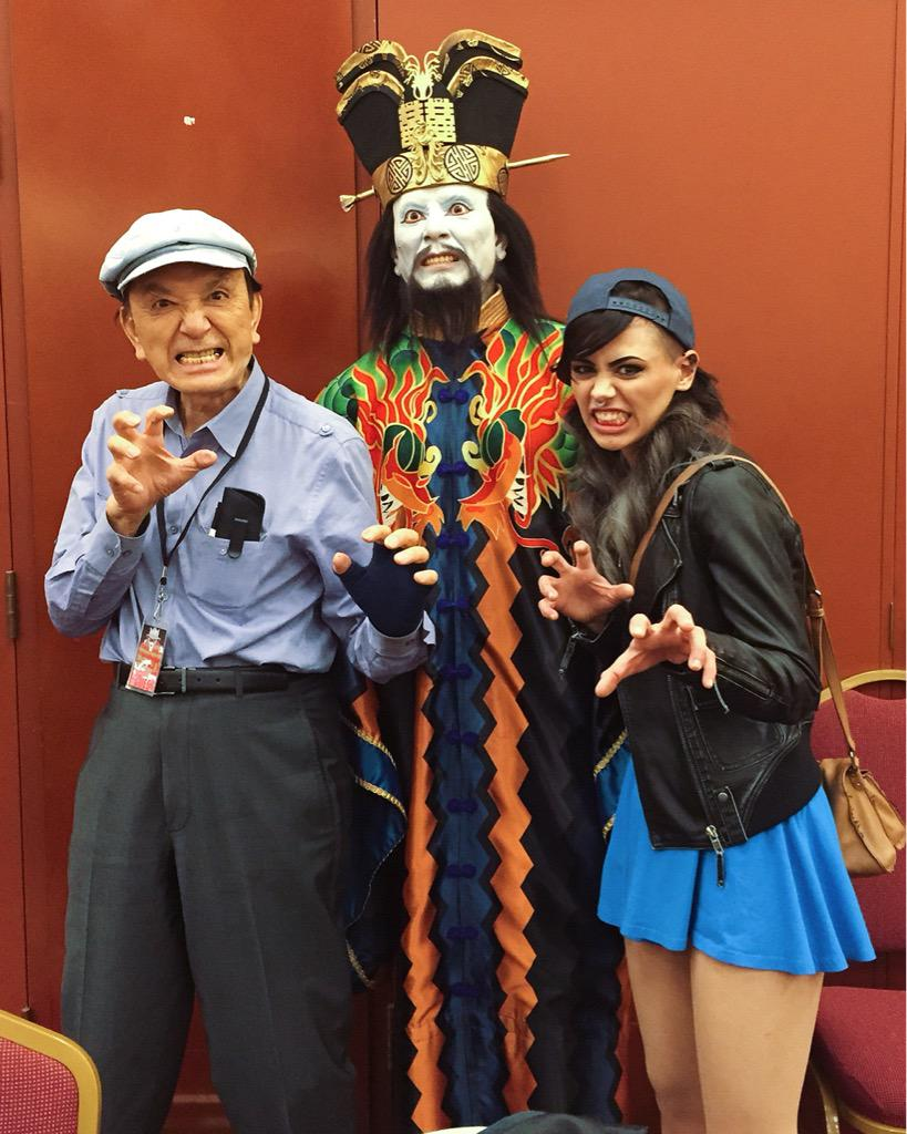 Meg Wil Wolf On Twitter James Hong Is In Fact The Sweetest Sassiest Person Ever And It Was A Pleasure To Work With Him Lopan Maskfest Http T Co Ucovss6n9q