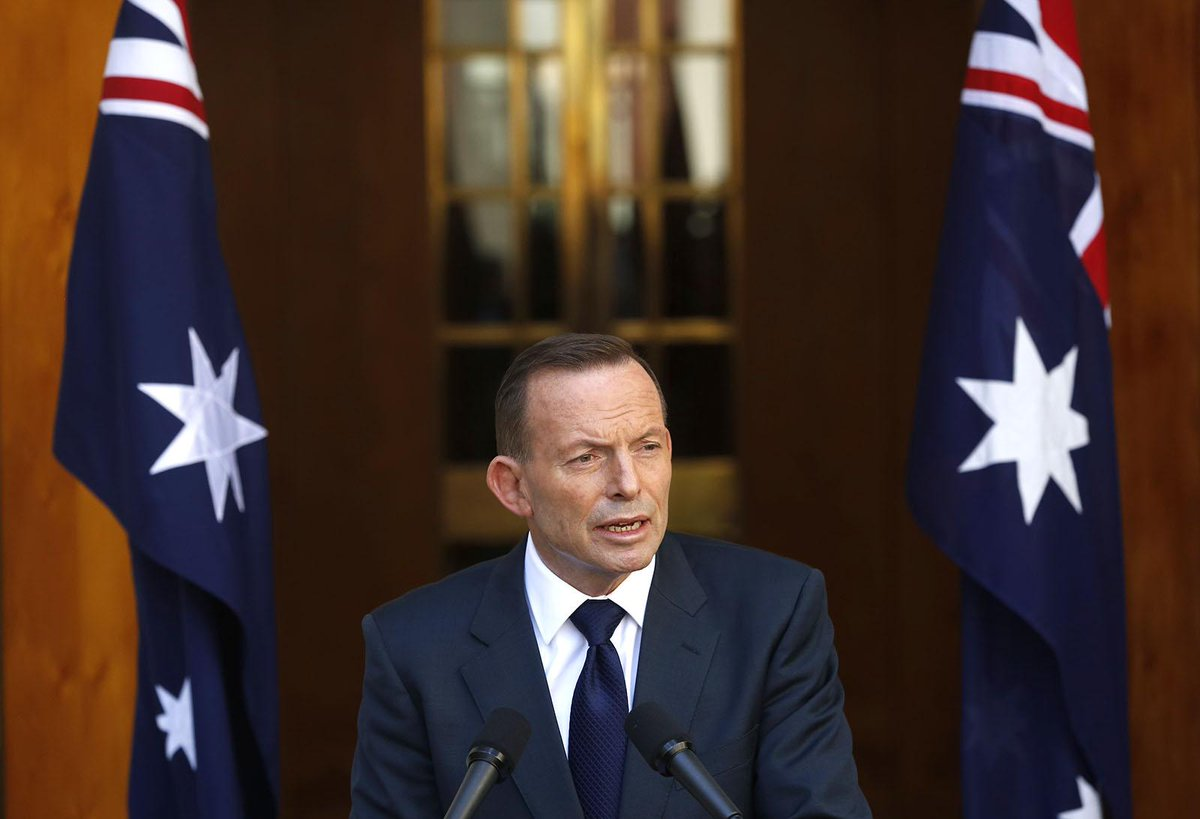 Ousted Australian PM Tony Abbott fires parting shot at media