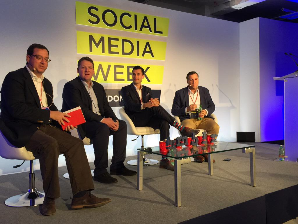 Thumbnail for Social technology: What people are saying at Social Media Week London 2015