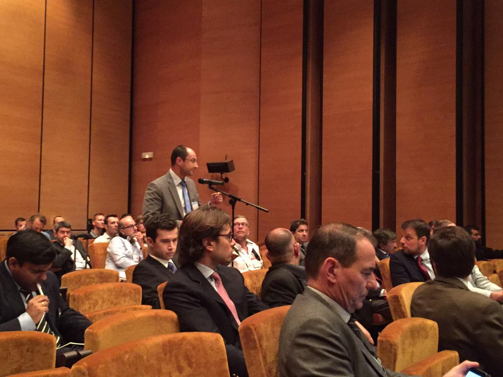 "Presentation on the latest ""Xi"" robots leads to a lot of audience discussion and exchange of experience at #ERUS15 http://t.co/WaWpTkIteu"
