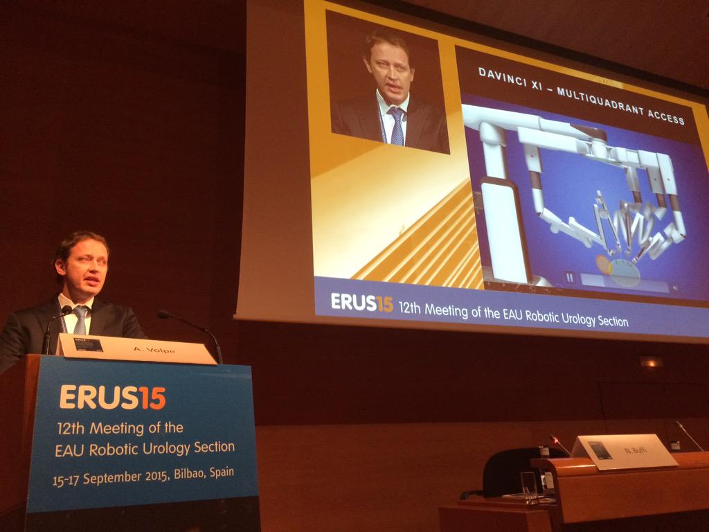 One year da Vinci Xi in clinical use #erus15 http://t.co/gNGSmefcsN