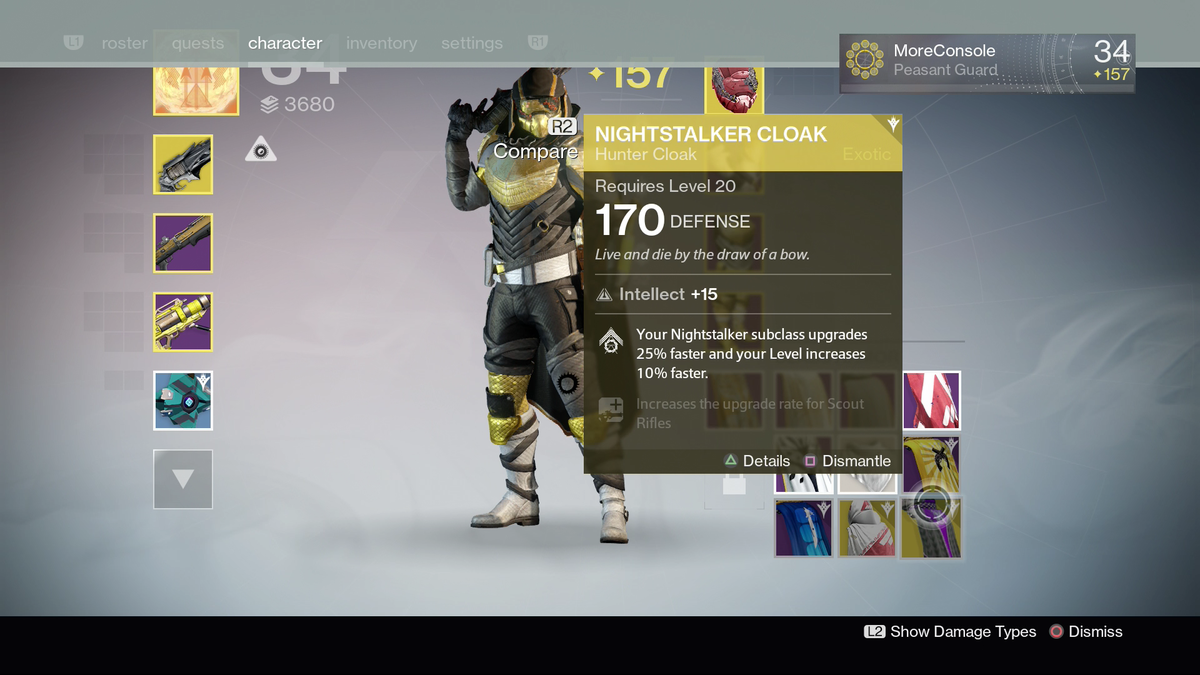 Destiny 2 On Twitter Already Have Two Exotic Hunter Cloaks Tco 6FFWDsuFMw