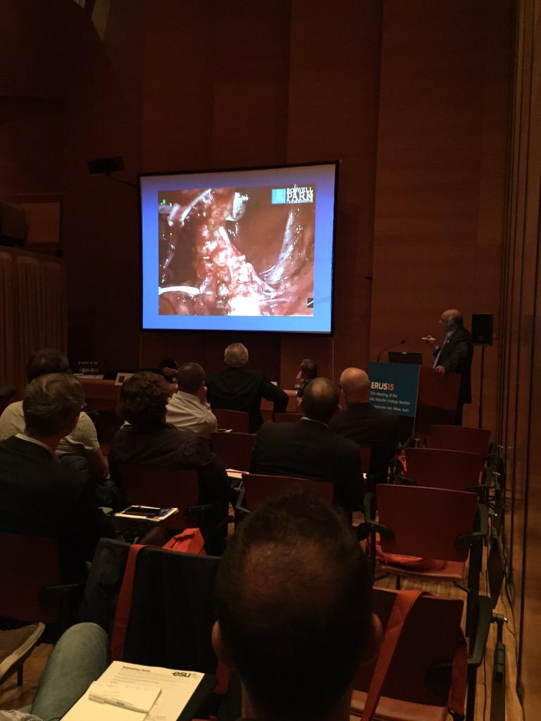 Advanced Robotic Radical Cystectomy course #ERUS15 http://t.co/R6SnaJIHXZ