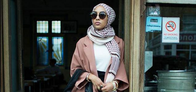 Une femme voilée dans la dernière campagne H&M Madame Figaro