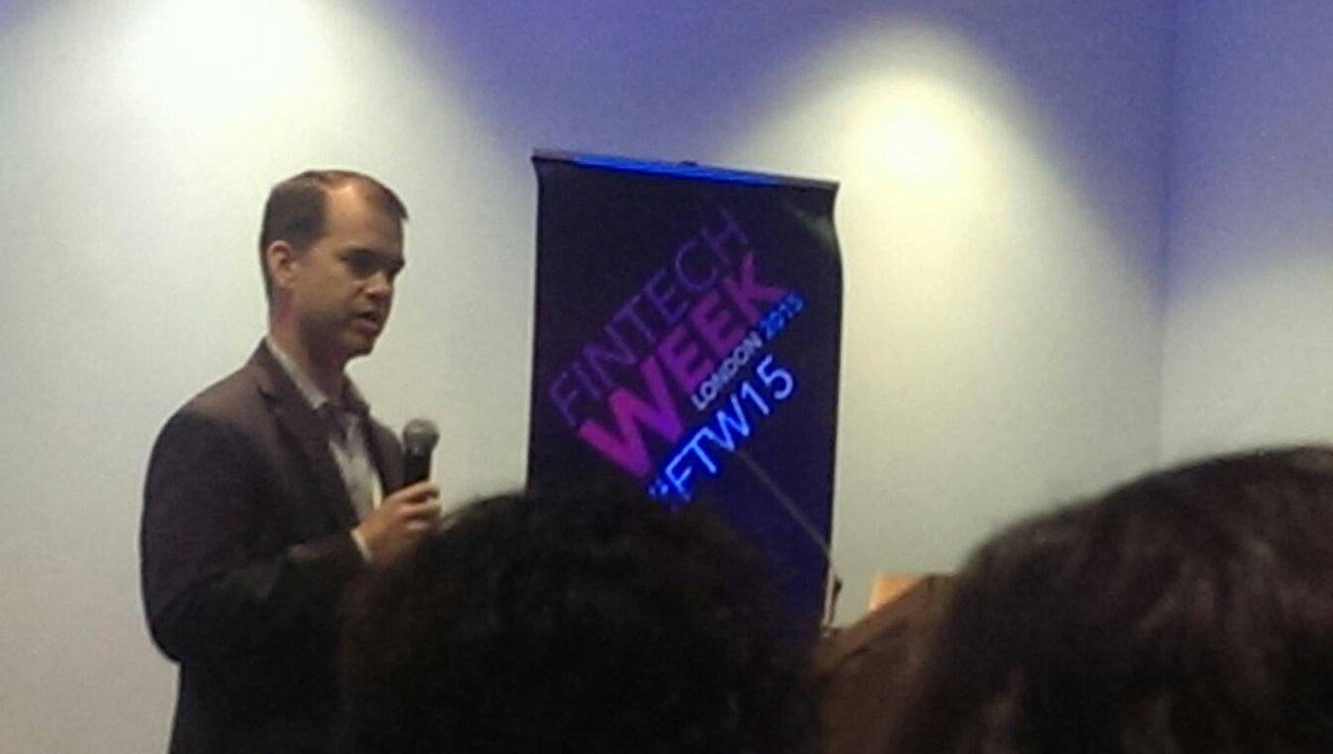 David Wong from @CMEGroup presents CME Ventures at @FinTechWeek #FTW15 http://t.co/2wpO6CYoY3