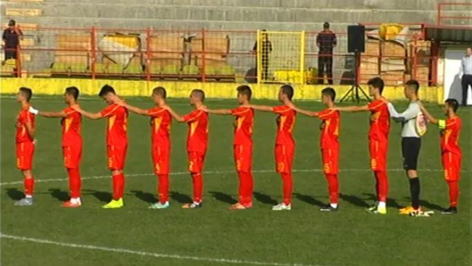 Macedonia U19 at a recent friendly