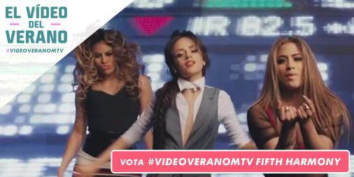 Después de casi 64 millones de votos tenemos ganadoras de #VideoVeranoMTV ¡Enhorabuena Fifth Harmony @FifthHarmony! ♥ http://t.co/vY4TFvPn0d