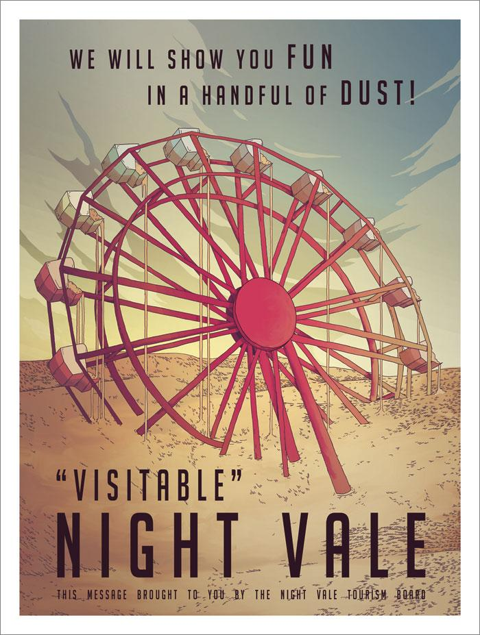 """Come visit Night Vale! It is totally safe, we """"promise"""". @NightValeRadio https://t.co/VrOYTWZkoS http://t.co/1tQ5XtpXgS"""