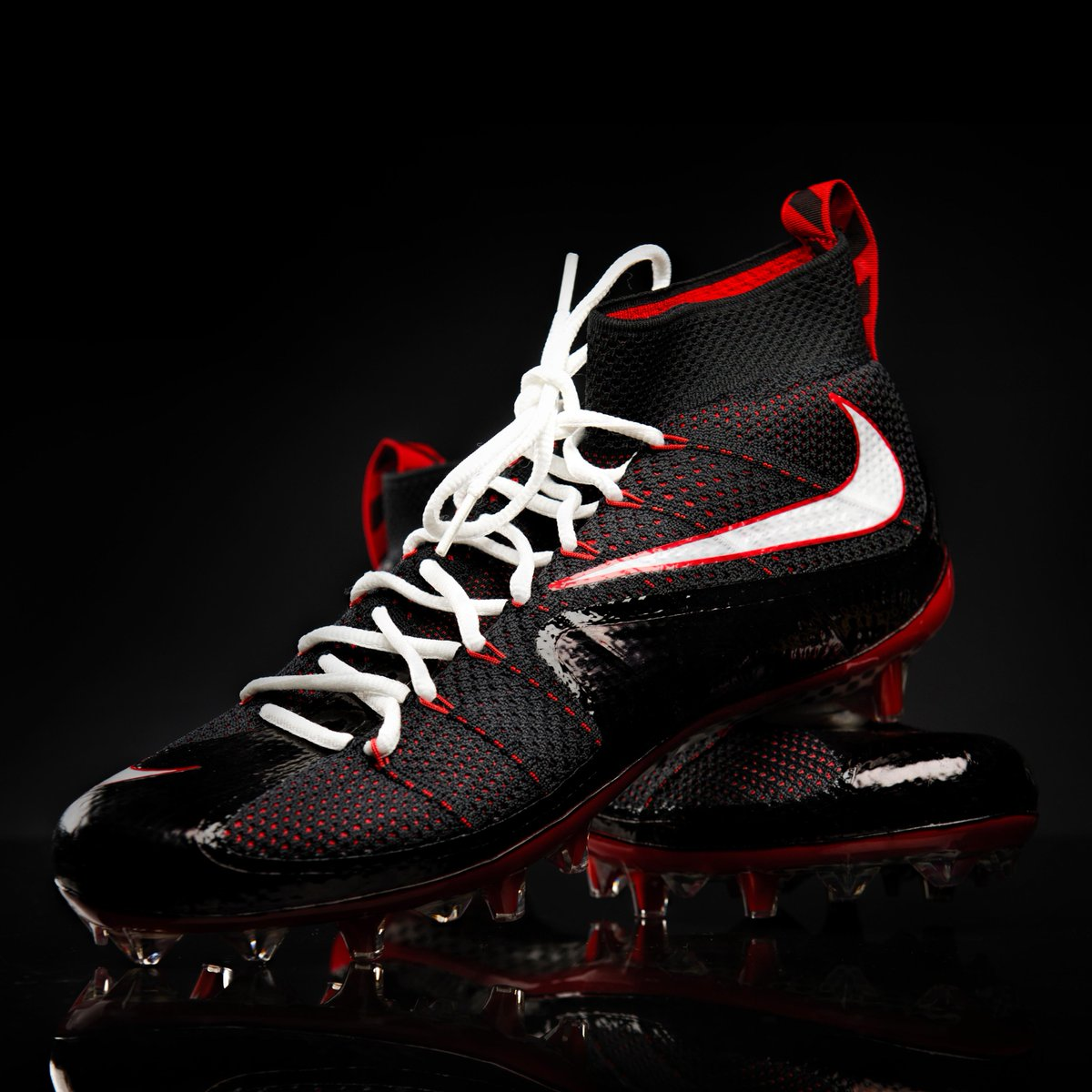 The usc skill position players will be wearing custom nike vapor  untouchable cleats.  fighton 67d2ae711347