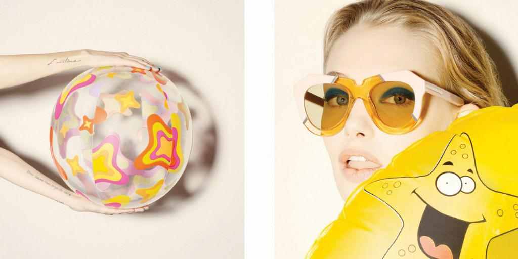 Karen Walker Gets Artsy for Latest Collection http://t.co/Qe0lH8yThL http://t.co/xJVTovmzaN