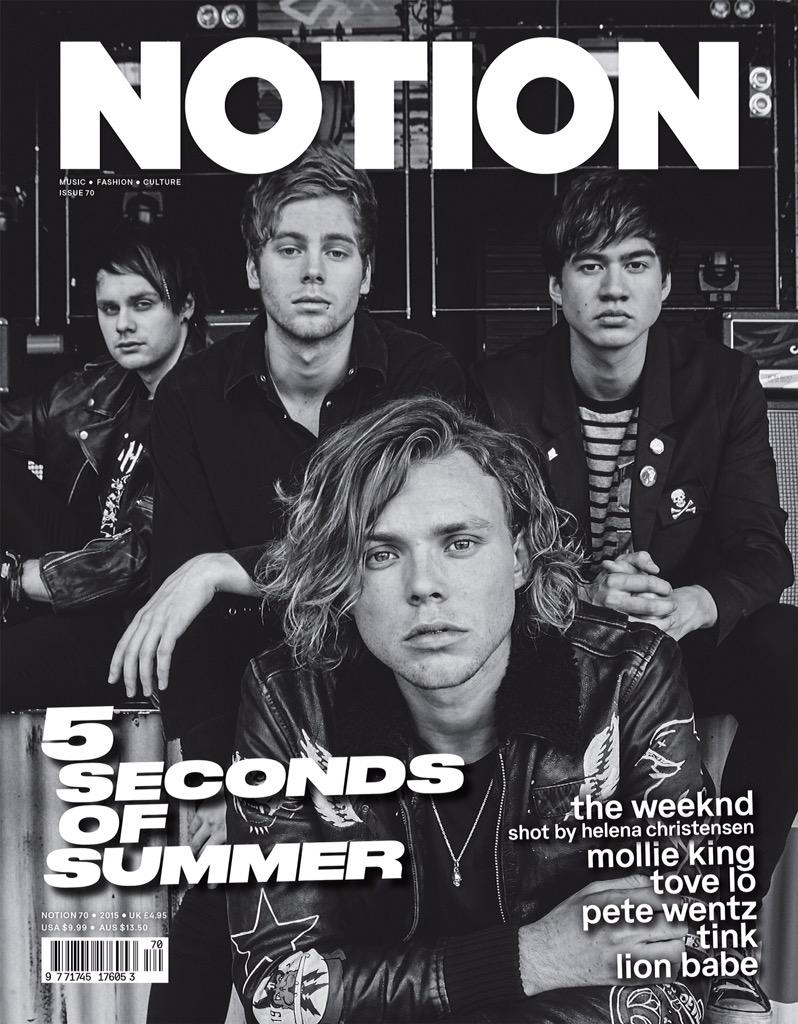 So who wanted to see that @5SOS @NotionMagazine cover I art directed?! #5sos #5secondsofsummer http://t.co/zZDorfcZ6r
