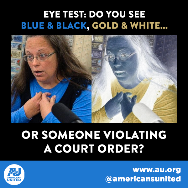 #KimDavis isn't a hero. She knew the law and she broke it--all in order to discriminate. http://t.co/OwMlu2k8mb
