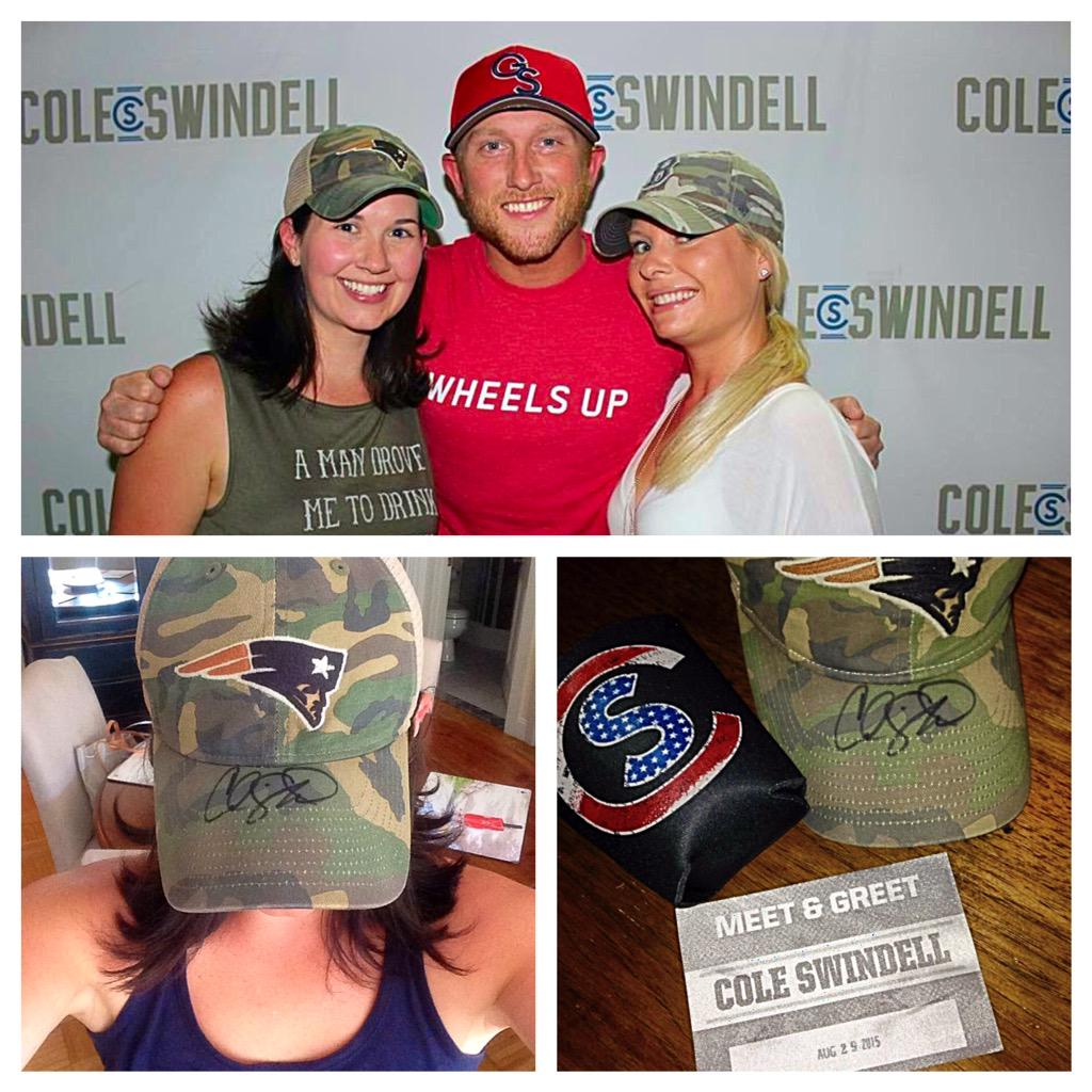 Brittany bang on twitter tbt to my meet greet with brittany bang on twitter tbt to my meet greet with coleswindell at gillettestadium maybe hes the reason bradyfreed goodluckcharm m4hsunfo