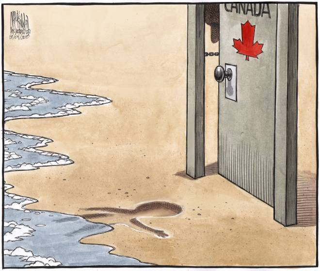 Tomorrow's @CH_Cartoon, on Canada and the plight of Syrian refugees http://t.co/sJZ9YkkyVe #cdnpoli http://t.co/5jwbQG2zjV