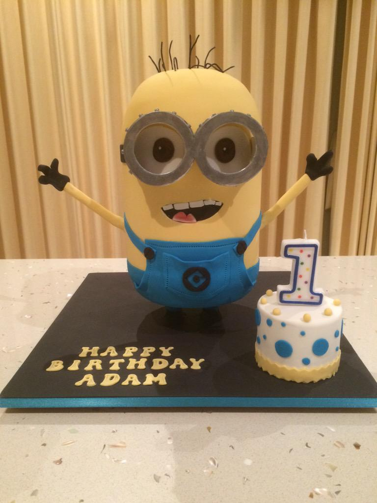 Jonathan Gurfinkel On Twitter Welcome Minions Overlord Cake