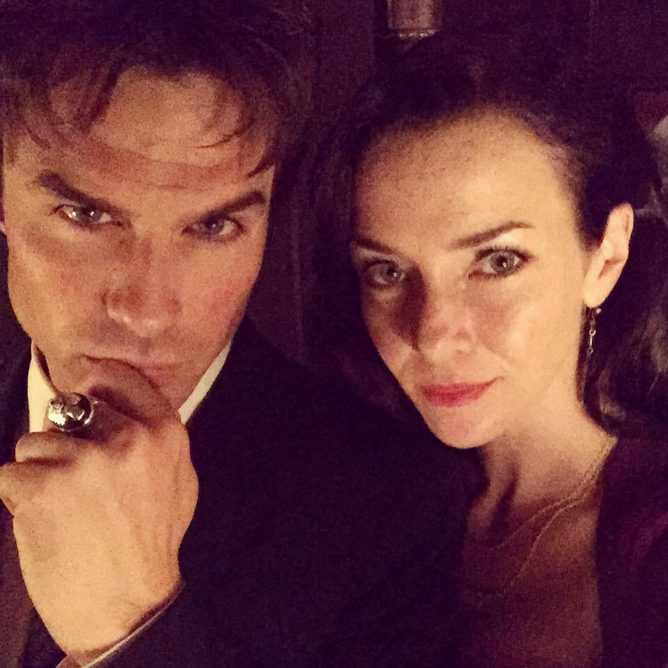 Mother & Son. Ready to party. #TVD  @iansomerhalder @cwtvd http://t.co/I6soWMNlXE