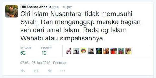 ulil pelopor islam nusantara