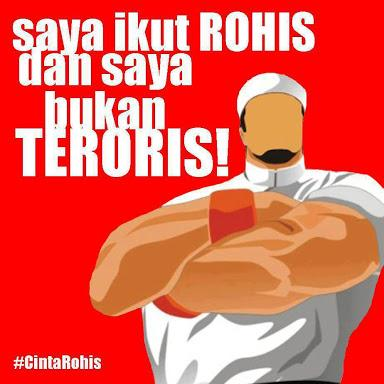 rohis bukan teroris