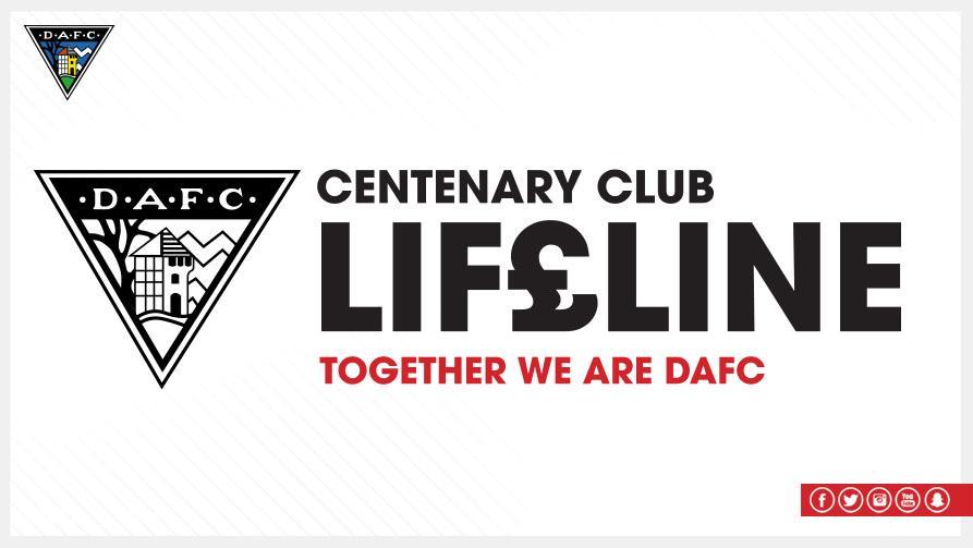 Dunfermline Athletic On Twitter Centenary Club Lifeline September