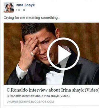 Shayk porno irina Irina Shayk