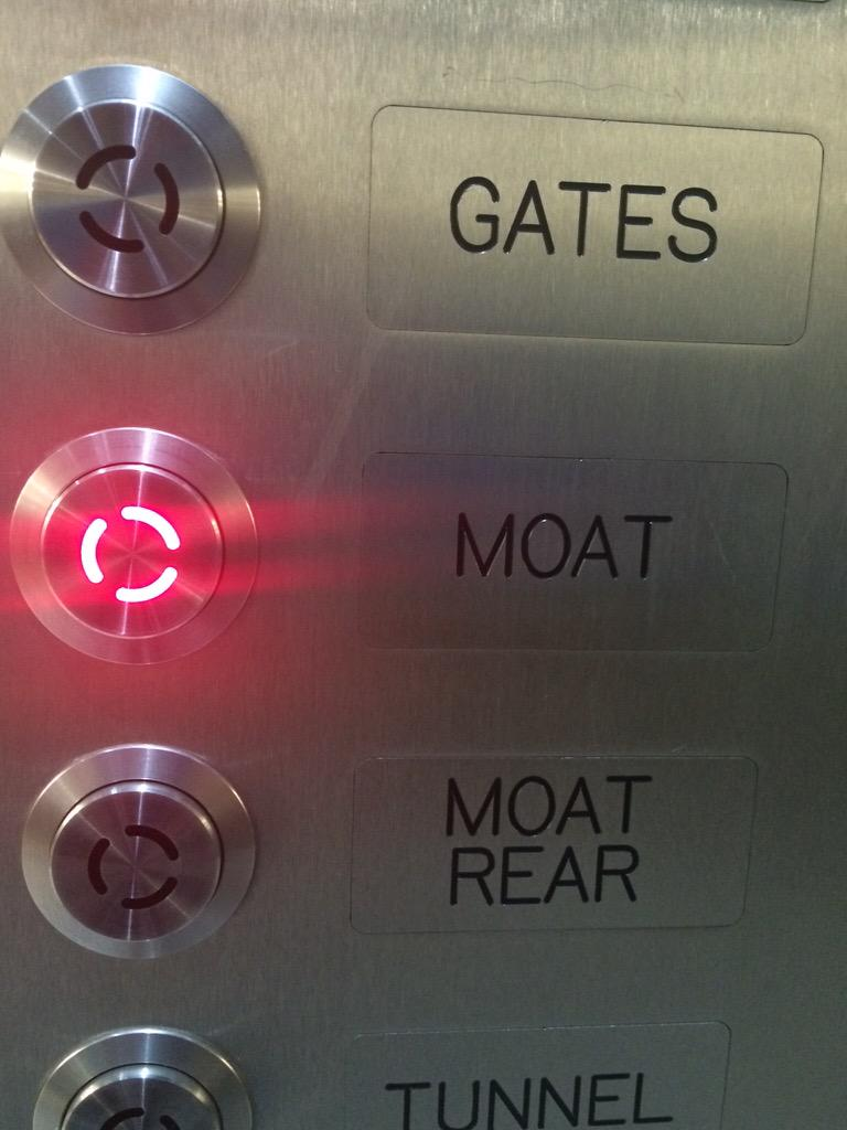 Without a doubt the weirdest elevator menu I've ever seen. http://t.co/7dr1umfvIn