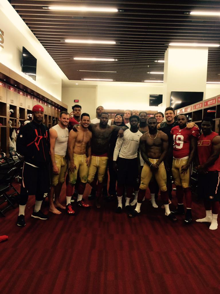 2015 San Fransisco 49ers rookie class. What a journey it has been. Love to the homies ✌