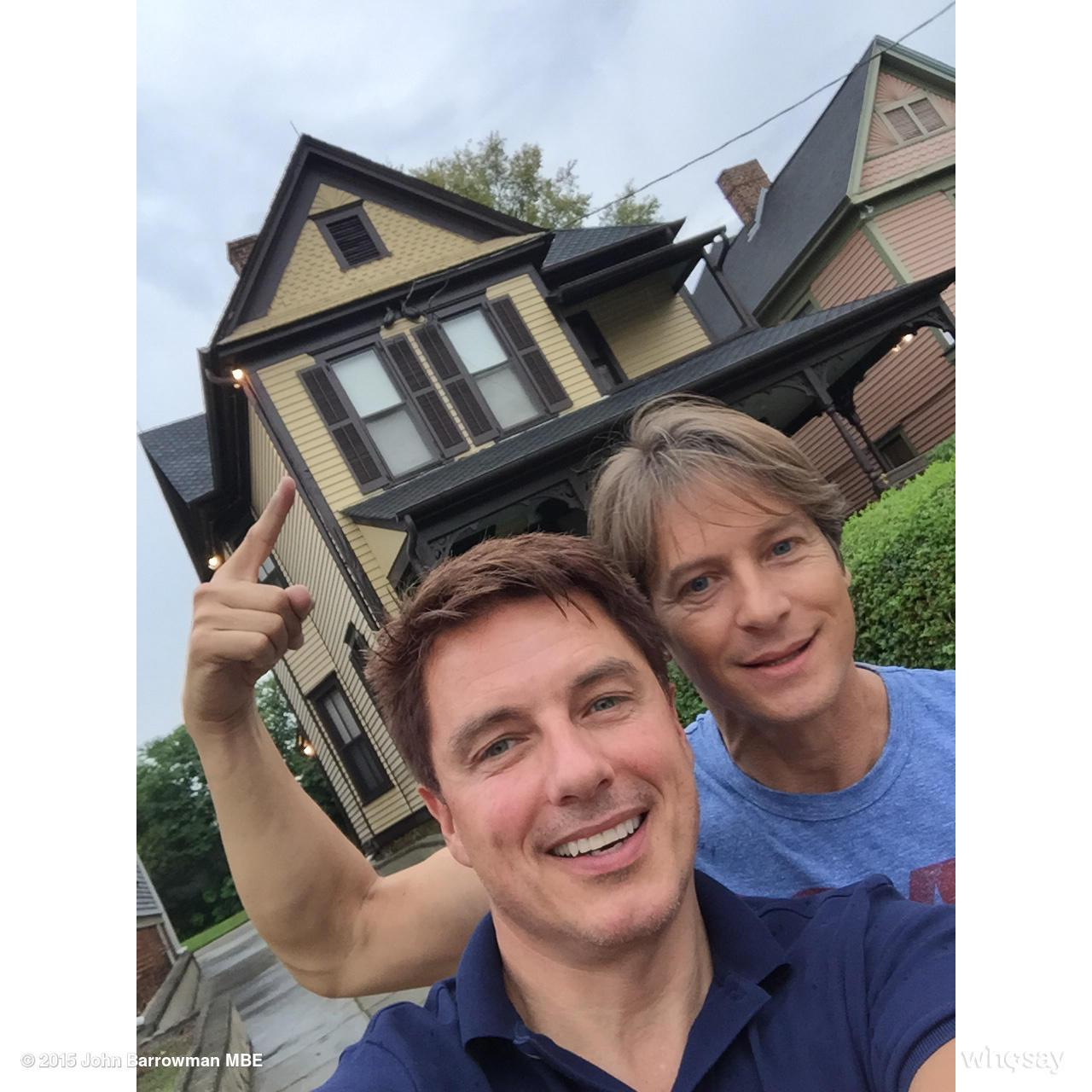 Another picture from today. We visited the #MartinLutheKing home. @DragonCon #DragonCon #DragonCon2015  Jb http://t.co/R9WkVVQeze