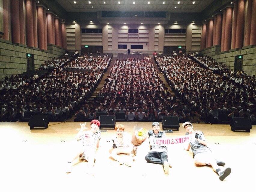菅高校、芸術鑑賞会ありがとうございました*\(^o^)/* http://t.co/JgDXL4CxM3