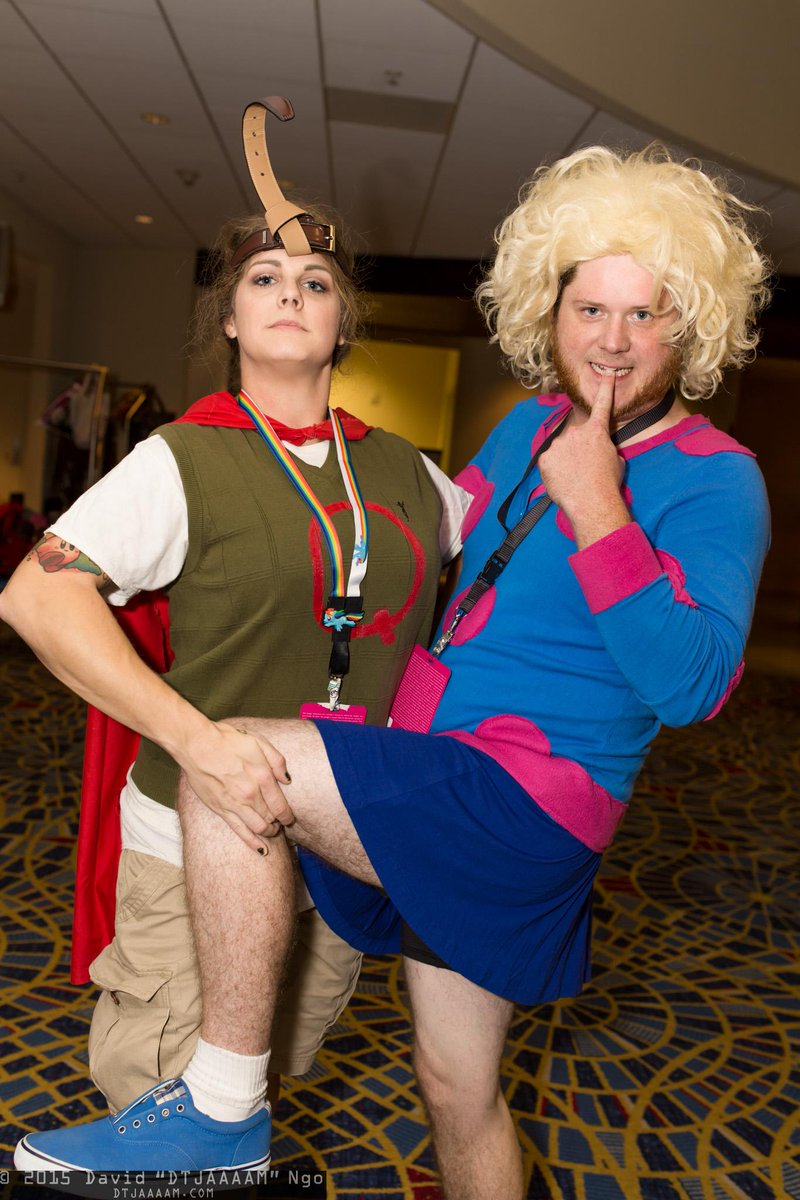 "DTJAAAAM on Twitter: ""Gender-swapped Quailman and Patti ... Quailman And Patty Mayonnaise Costume"