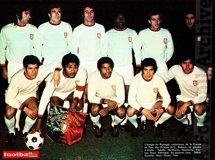 A Football Archive On Twitter Portugal Xi V France Featuring