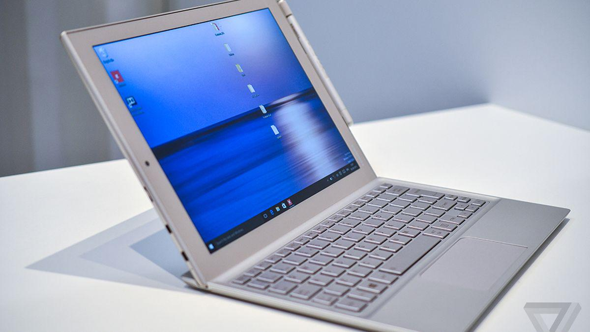 Toshiba's featherlight tablet sets the stage for the iPad Pro