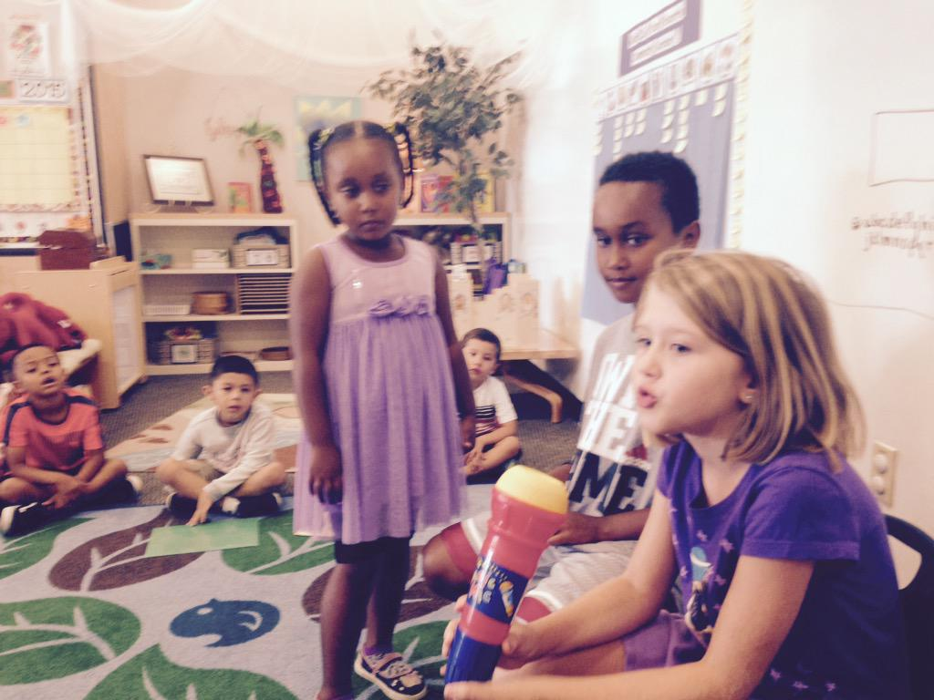 TK Ss interview former TK Ss about being 2nd graders. #camlearns http://t.co/VWaFfvJRr3