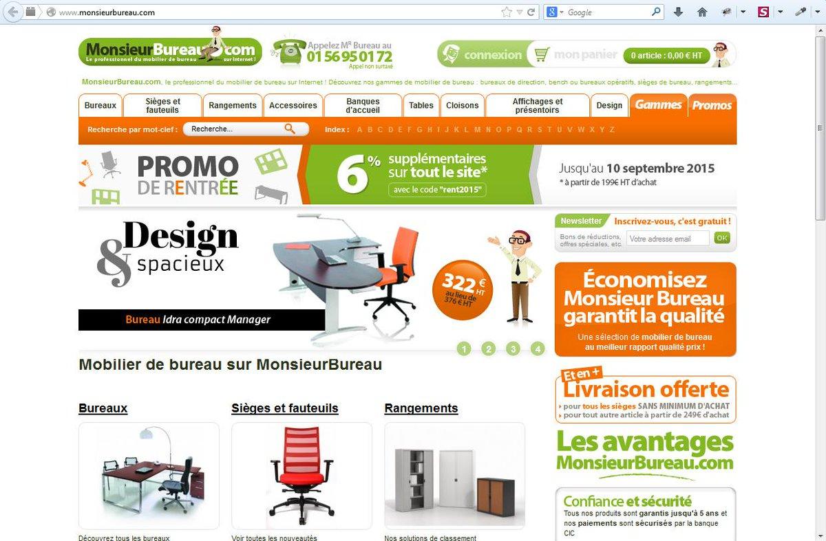 Monsieurbureaucom Monsieurbureau Twitter