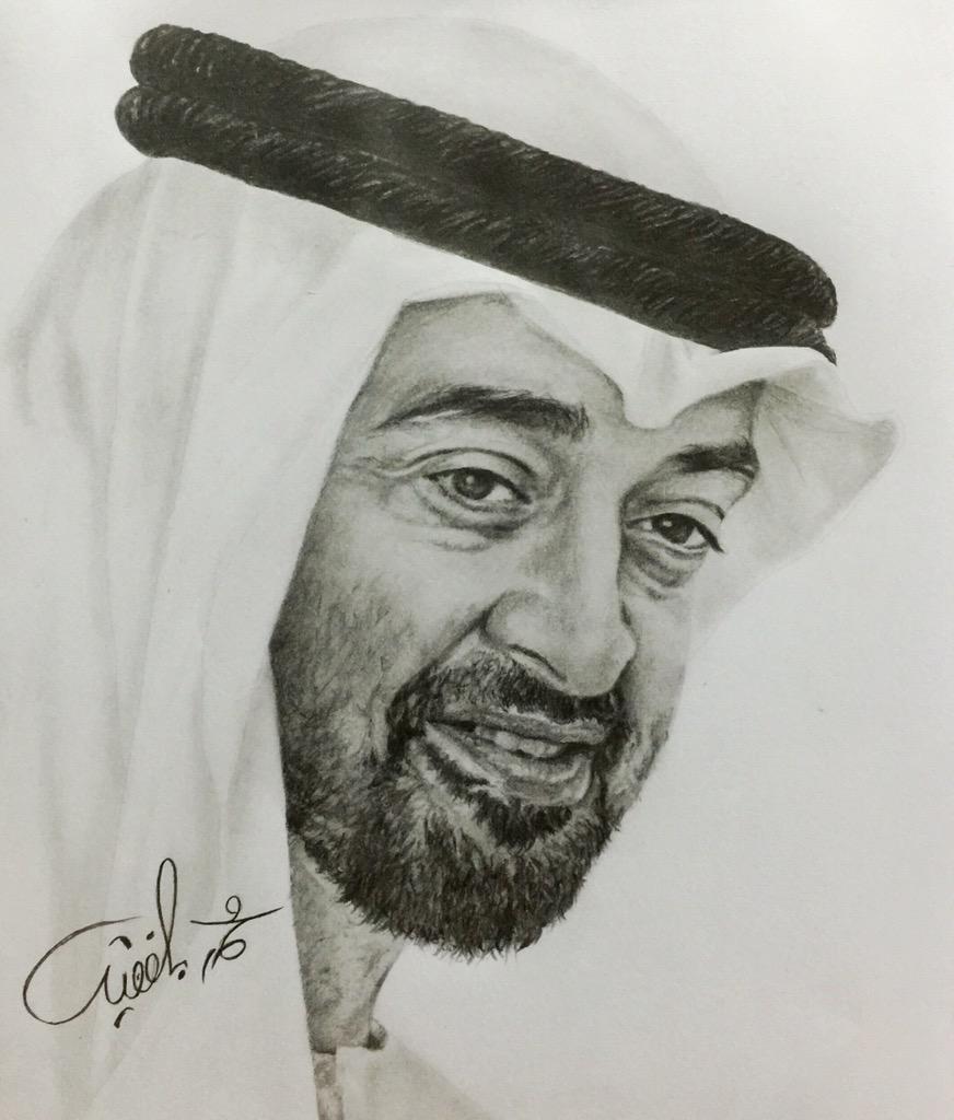 Balfaqih M Na Twitteri رسمتي للشيخ محمد بن زايد ال نهيان رسم