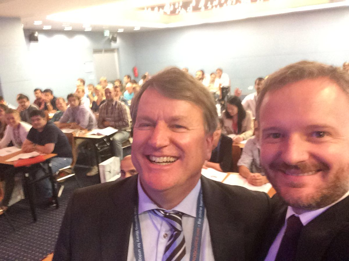#EUREP15 #selfie with J. Van Morselaar #ROOMA group is awesome. Interactive #cancer discussion around cases @Uroweb http://t.co/G6Oeve7zv8