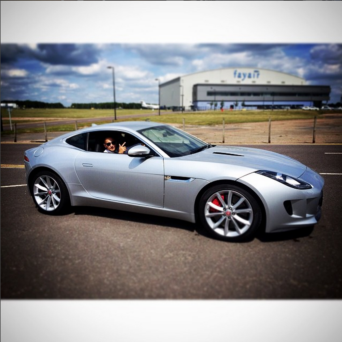"Jaguar Rental Car: Sixt UK On Twitter: ""Take Your #SmugShot With Our Jaguar F"