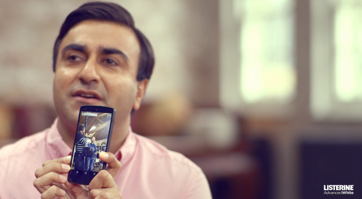 .@ListerineGlobal's new video from @JWT_Worldwide showcases its Smile Detector app http://t.co/ceLyCktt7N http://t.co/kwtHlYcV5s