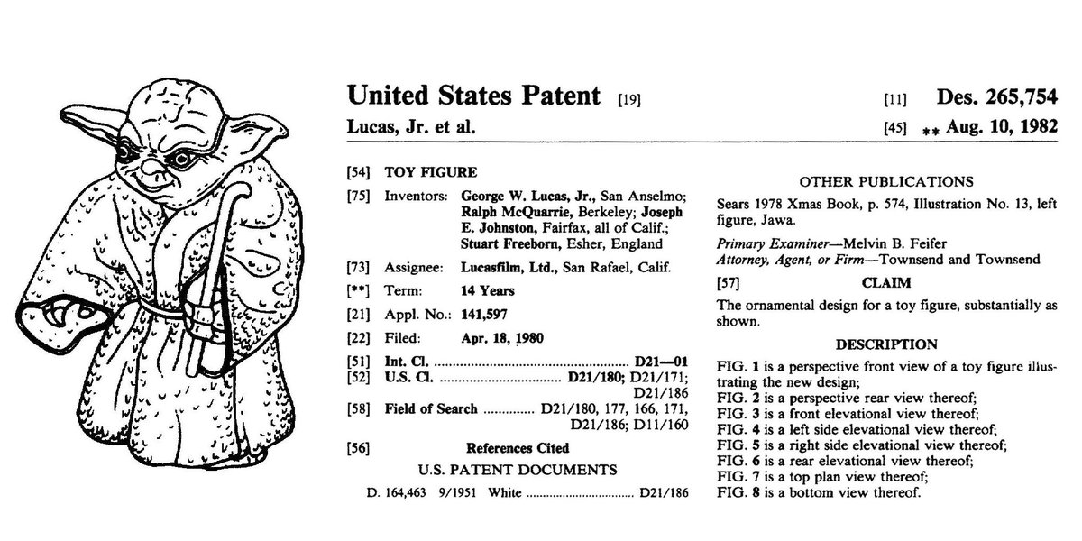 #ForceFriday it is. #ShareTheForce you must. Protect design you should. @starwars #ForceAwakens #Yoda #Patent #IP