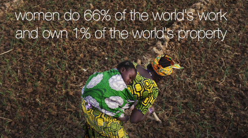 #Women do 66% of the world's work and own 1% of the world's property. #fairtrade http://t.co/Xd67oMurYG via @sharedtrade   @thistlefarms