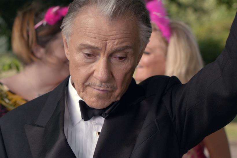 Harvey Keitel returns as Winston Wolf to help a hen do in the new ad for @DirectLine_UK http://t.co/AyyKCKEQpi http://t.co/nxGIdQTMbW