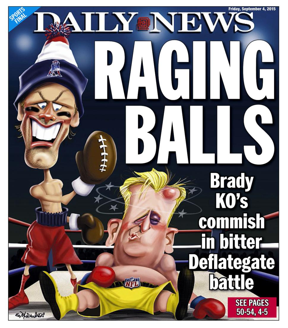 New York newspaper Cover Goes Hard at the Commish