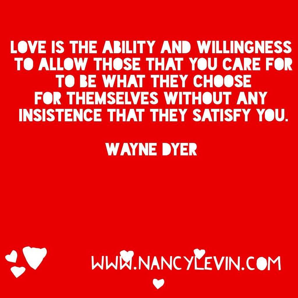 @DrWayneWDyer on Love..... http://t.co/71uNgAa1Tv