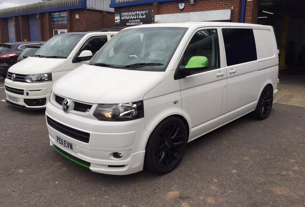 Vagnostics On Twitter Vw T5 1 Transporter With Abt Styling Lowered By Us Using Gaz Coilovers