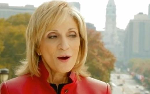 Andrea Mitchell whines about Hillary Clinton using her in new ad