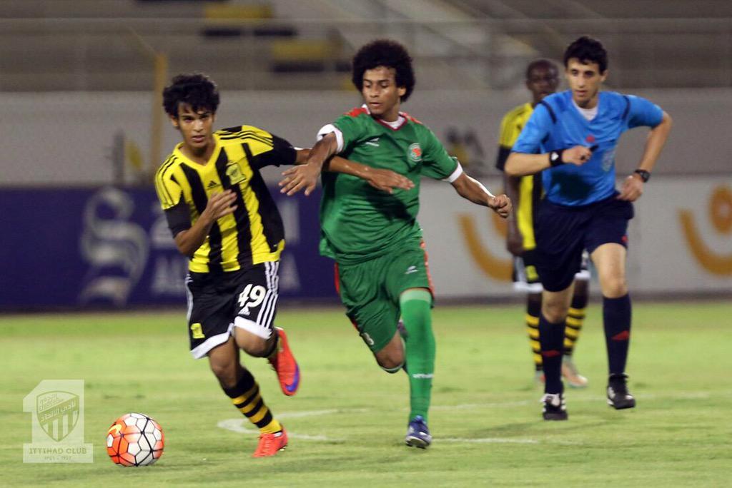 المركز الاعلامي: كاس الاتحاد السعودي لكرة القدم ناشئين مباراة الاتحاد vs الاتفاق